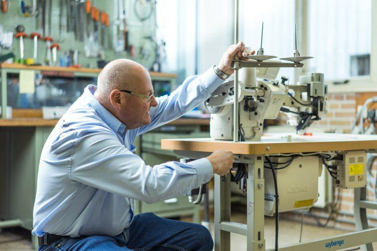 Wybenga Machines Werkplaats machine onderhoud