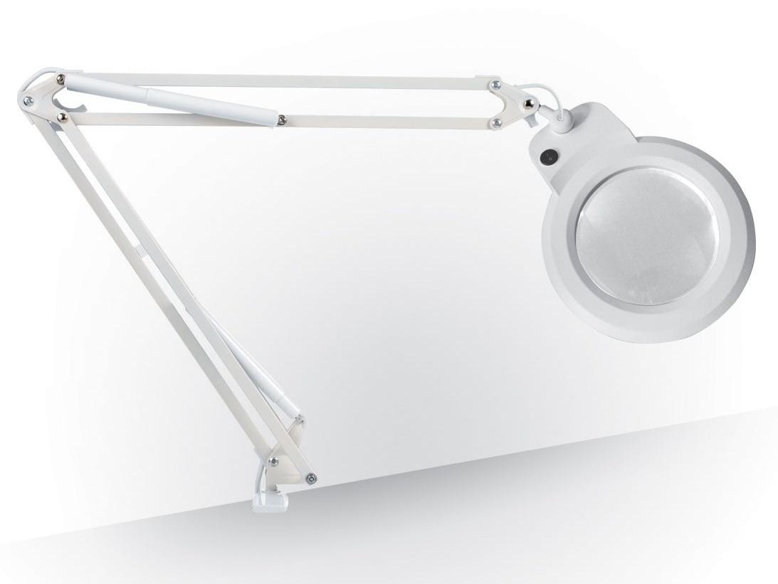 7 inch loeplamp, wit