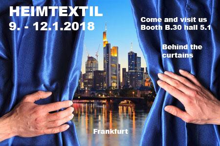 Heimtextil 2018 – behind the curtains