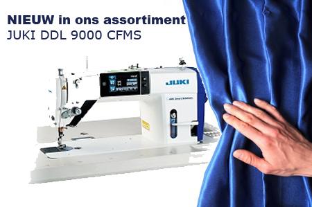 NIEUW in ons assortiment: JUKI DDL-9000 CFMS