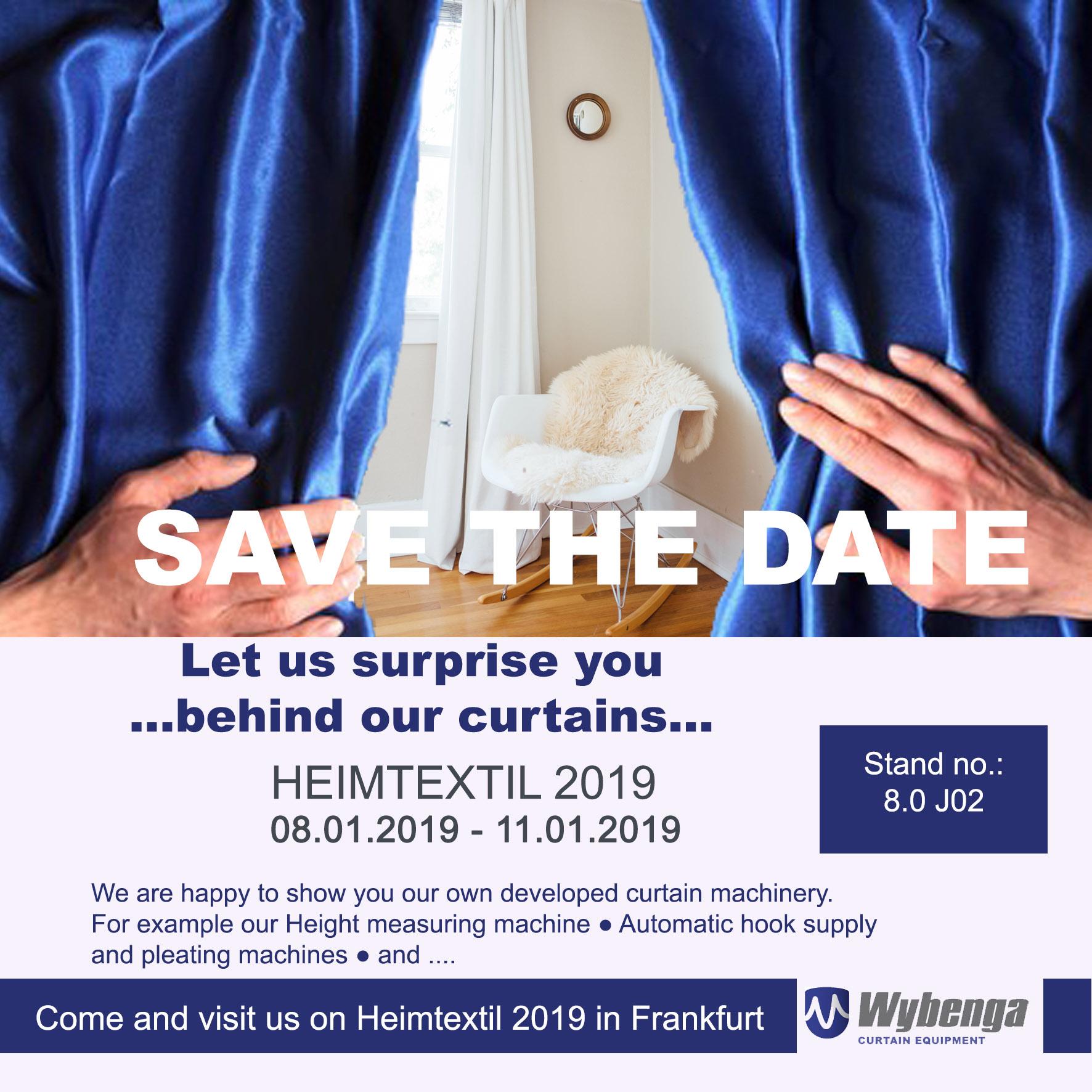 Let us surprise you….@Heimtex 2019